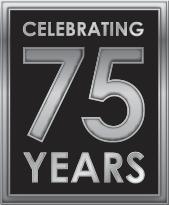 75 Year Logo