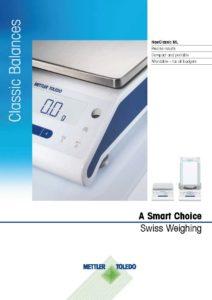 Mettler ML Series Brochure Cover