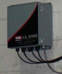 J.A. King Temperature Monitoring System