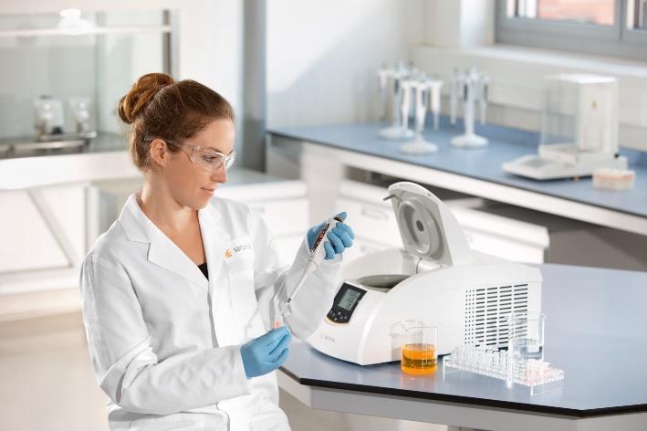 Sartorius Centrifuge in Laboratory