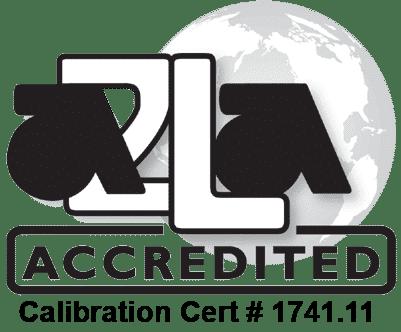 A2LA Logo - CLT Certificate