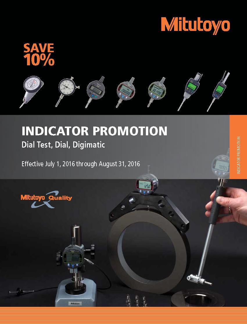 Mitutoyo Indicator Promo