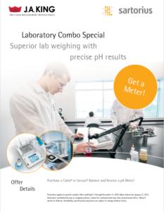 Sartorius Laboratory Combo Promo