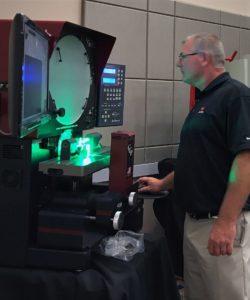 CCP Optical Comparator Product Demo - J.A. King