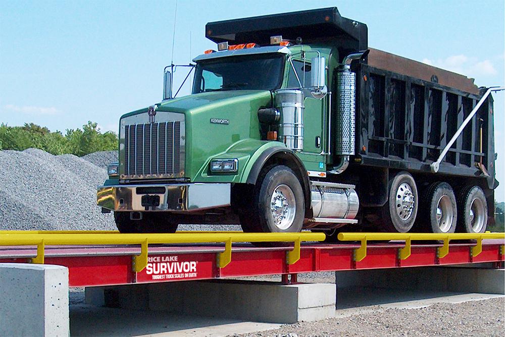 Rice Lake SURVIVOR OTR Steel Deck Truck Scale