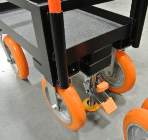 Custom Weight Card Wheel Brake