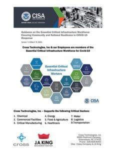 Coronavirus (COVID-19) Update - March 22, 2020 - Essential Critical Infrastructure 1